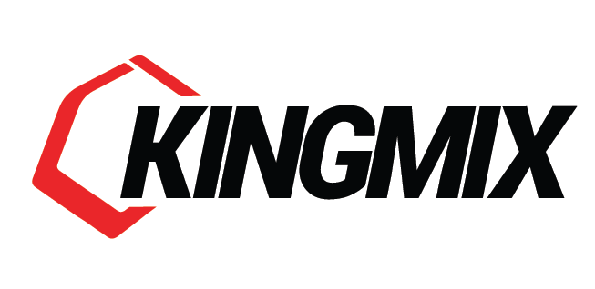 king mix logo design