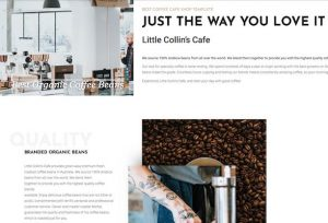 Cafe-website-theme-template