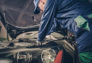 Auto Service Business Concept