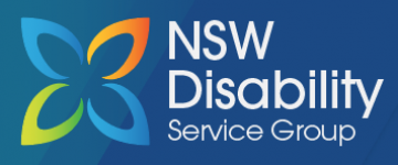 NSW Disability  logo design