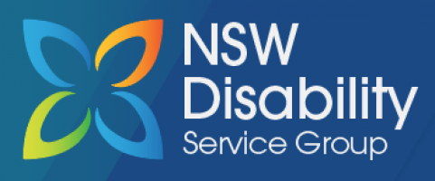 NSW Disability  logo design