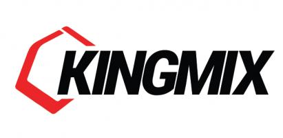 king mix logo design